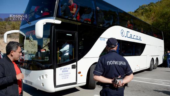 Zabrana prolaska za fudbalere Crvene zvezde na Jarinju
