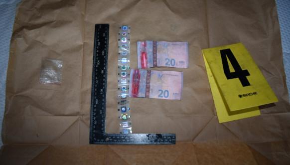 Zaplena falsifikovanog novca, Kosovska policija
