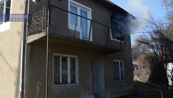 Zapaljena kuća