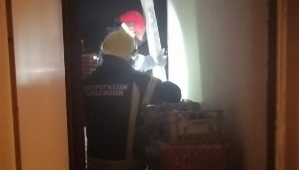 Vatrogasci intervencija u Severnoj Mitrovici
