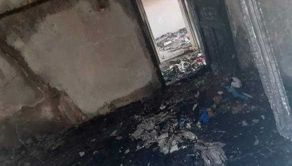 Izgorela kuća porodice Ristić iz Janine Vode