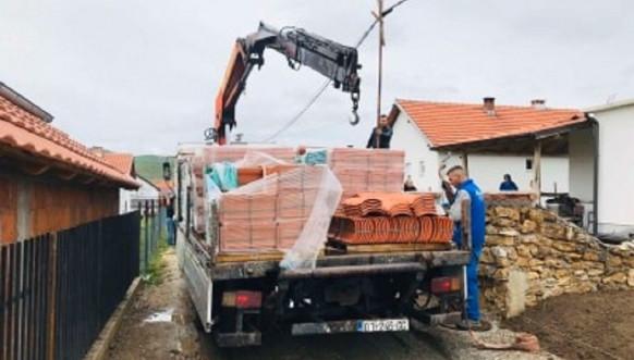 Gračanica, građevinski materijal, Foto- opština Gračanica