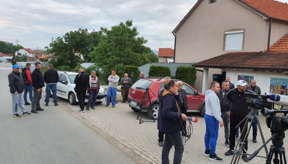 Povređeni Srbi kod Lipljana