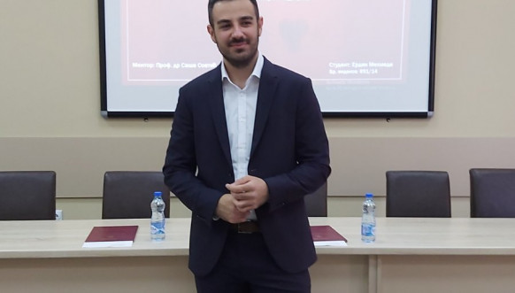 Erdin Mehmedi na Medicinskom fakultetu