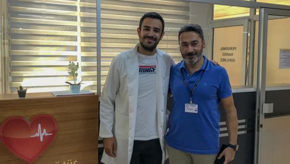 Erdin Mehmedi i dr Murat Biçer iz Burse