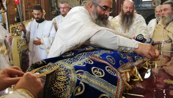 Presvlačenje moštiju Sv kralja Milutina - Crkva Sv Sofije u Bugarskoj