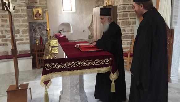 Patrijarh Irinej - Iguman Danilo