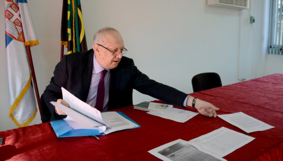 Jovan Dimkić - generalni direktor Kombinata Trepča