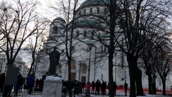Pomen Oliveru Ivanoviću - Hram Svetog Save