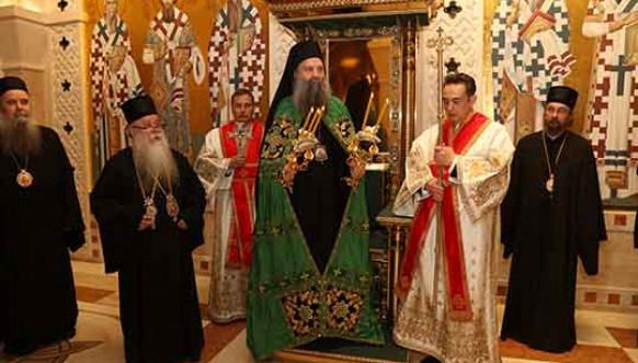 Novoizabrani patrijarh SPC Porfirije