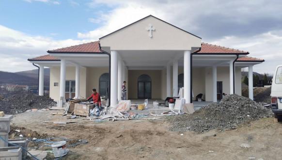 Zvečan - Groblje u Rudaru - Izgradnja kapele