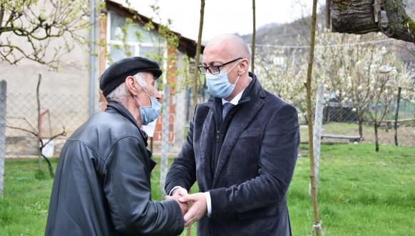 Rakih i Hodžić prilikom obilaska povratnika u Grebniku i bošnjačkih porodica u Dobruši