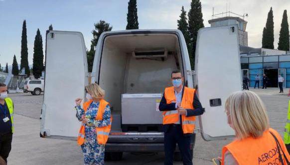 Vakcine iz Srbije stigle u Crnu Goru