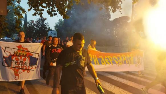 Protest u Podgorici/Pravda za Rista