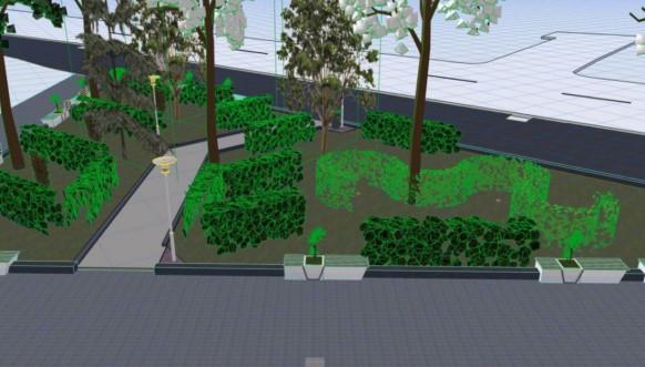 Severna Mitrovica projekat zelene površine