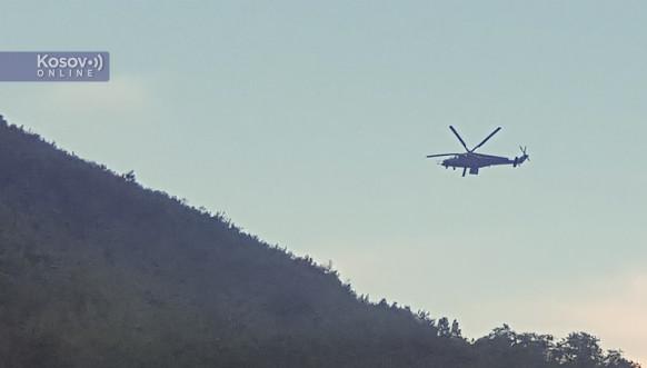 Srpski helikopter iznad Jarinja 3