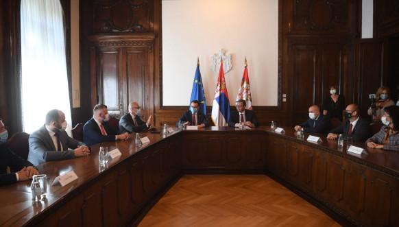 Vučić i Petković sa predstavnicima Srba sa Kosova