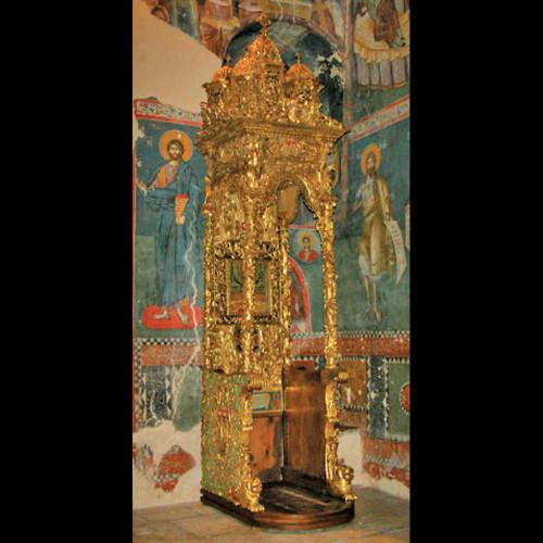 Restauracija Bogorodičinog trona u manastiru Pećka Patrijaršija