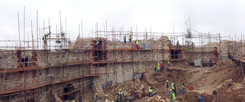 Restauratorski i konzervatorski radovi na tvrđavi Novo Brdo