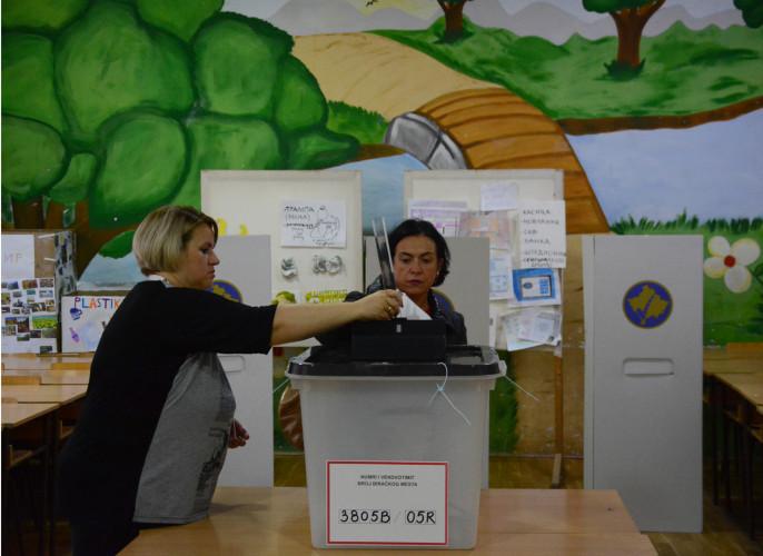 Glasanje na vanrednim izborima na Kosovu