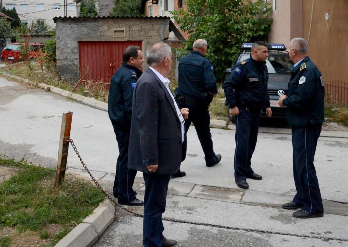 Kosovska policija u blizini biračkih mesta