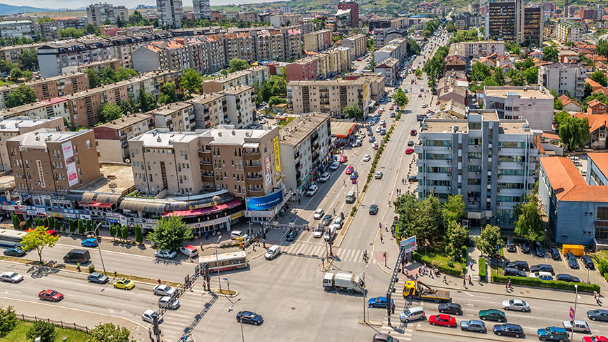 Pristina (Kosovo). © Shutterstock