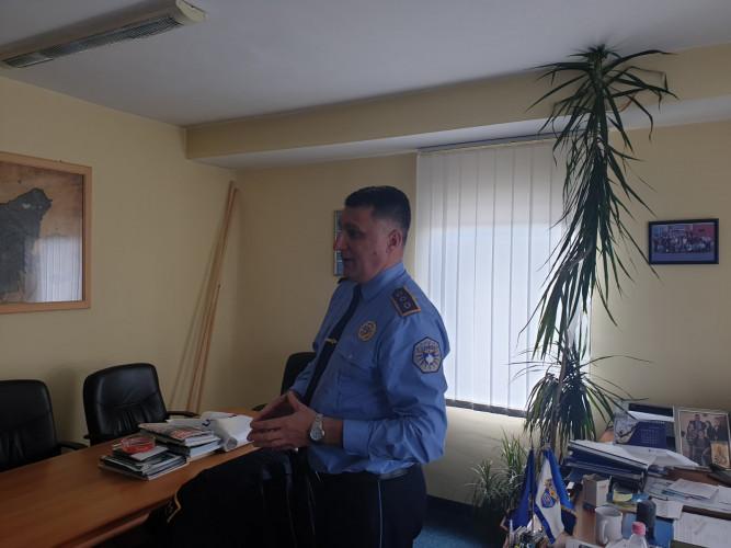 Bratislav Trajković, komandir policije u Gračanici
