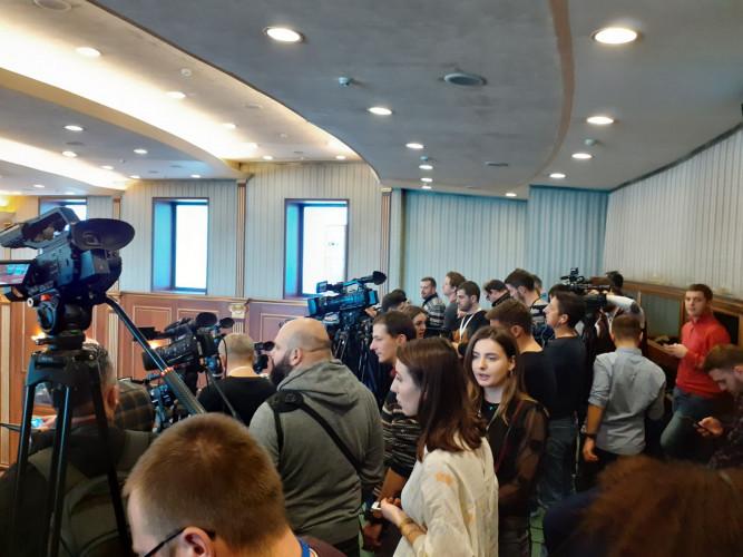 Novinari u Skupštini Kosova