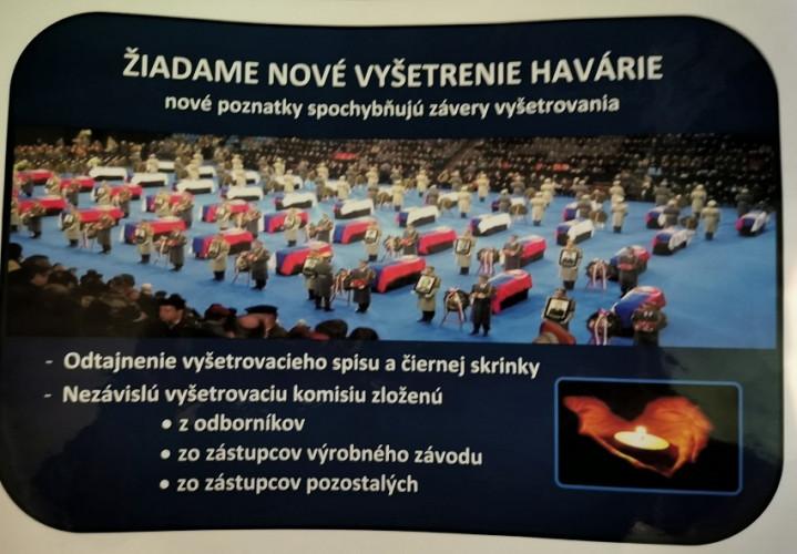 Avionska nesreća, stradali slovački vojnici
