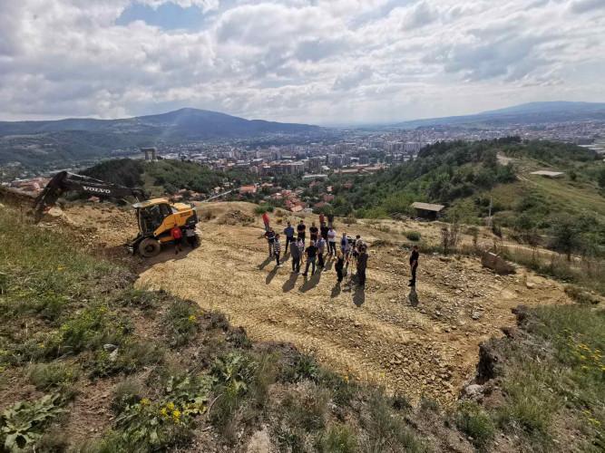 Radovi na izgradnji novog rezervoara za vodu