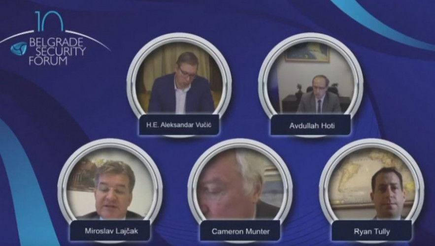Učesnici Beogradskog bezbednosnog foruma