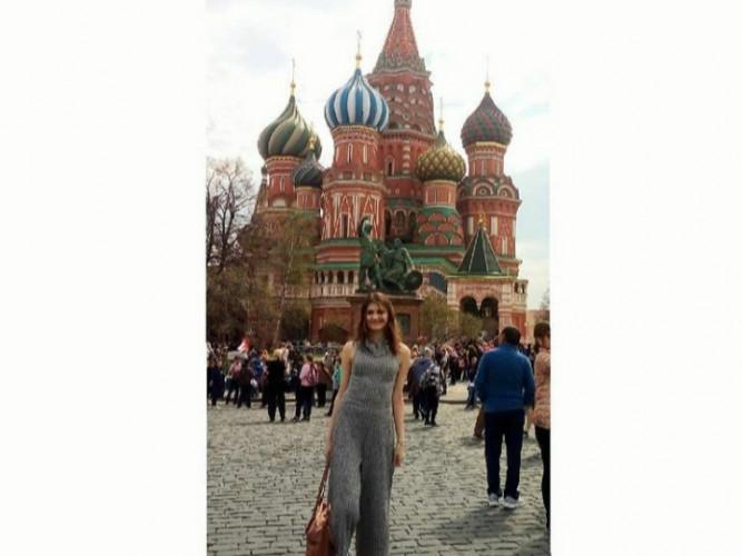Milena u Moskvi