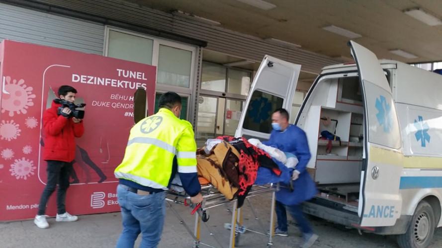 Povređeni u eksploziji u Uroševcu