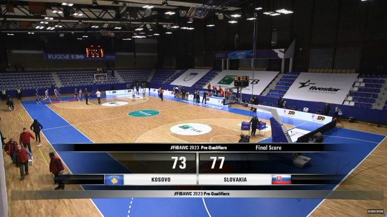 košarka kosovo slovačka