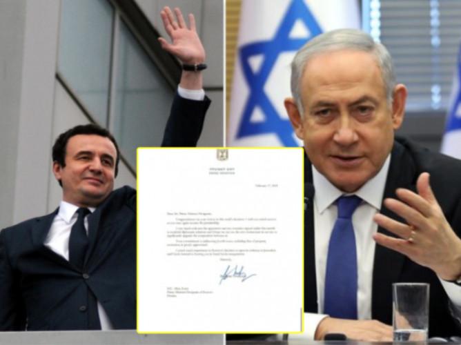 Kurti - Netanjahu