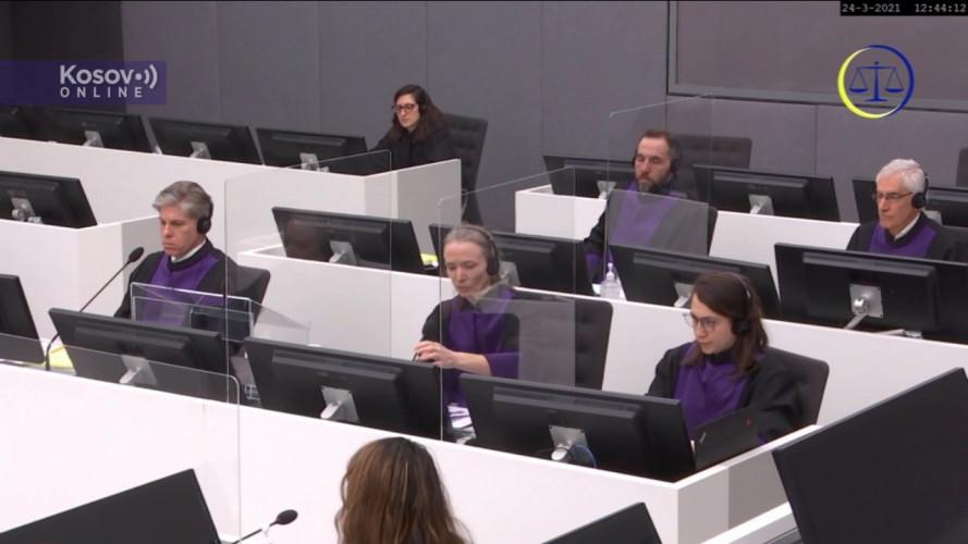 Četvrta statusna koferencija u slučaju Tačija i ostalih - Tužilaštvo 2