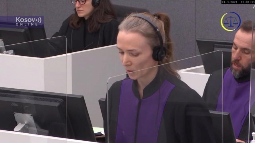 Četvrta statusna koferencija u slučaju Tačija i ostalih - Tužilaštvo