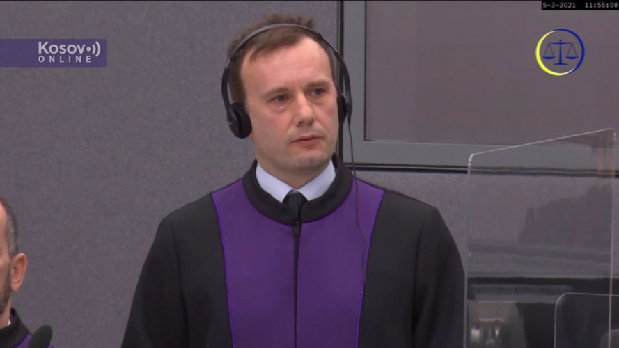 Cezar Mihalčuk, tužilac