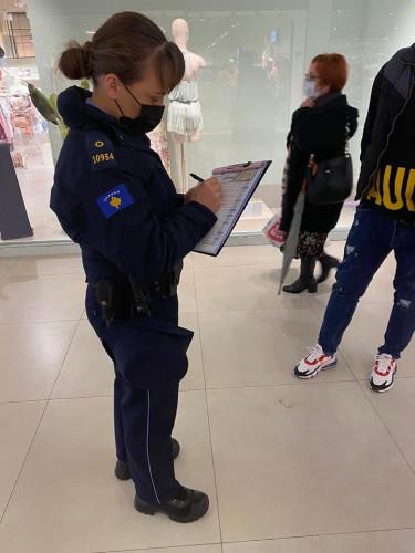 kosovska policija antikovid mere