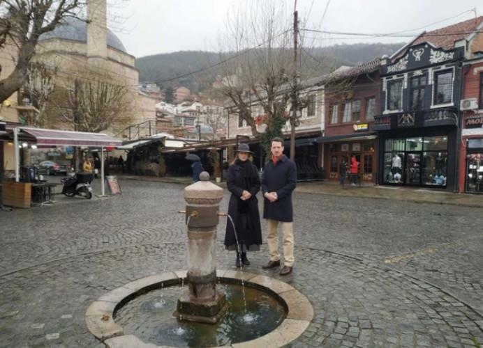 Princ Filip i princeza Danica u Prizrenu