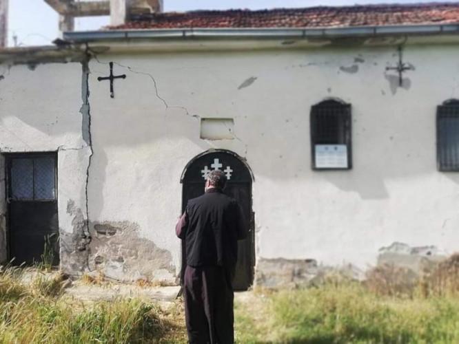 Oskrnavljena crkva u Donjoj Šipašnici
