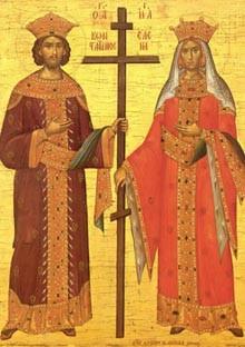 Sv car Konstantin i carica Jelena
