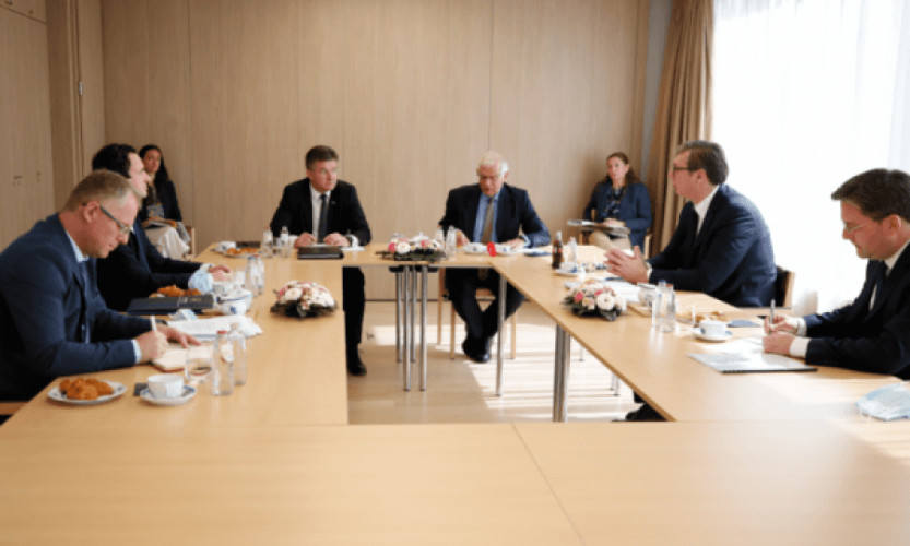 dijalog Aleksandar Vučić i Aljbin Kurti