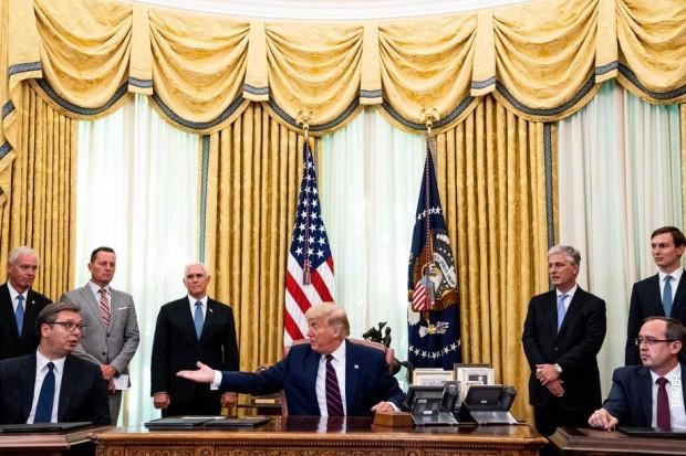Potpisivanje Vašingtonskog sporazuma, 4. septembar 2020.