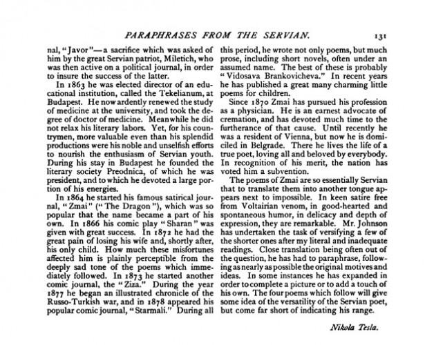 "Teslin tekst ""Century Magazine"", 1. maj 1894"