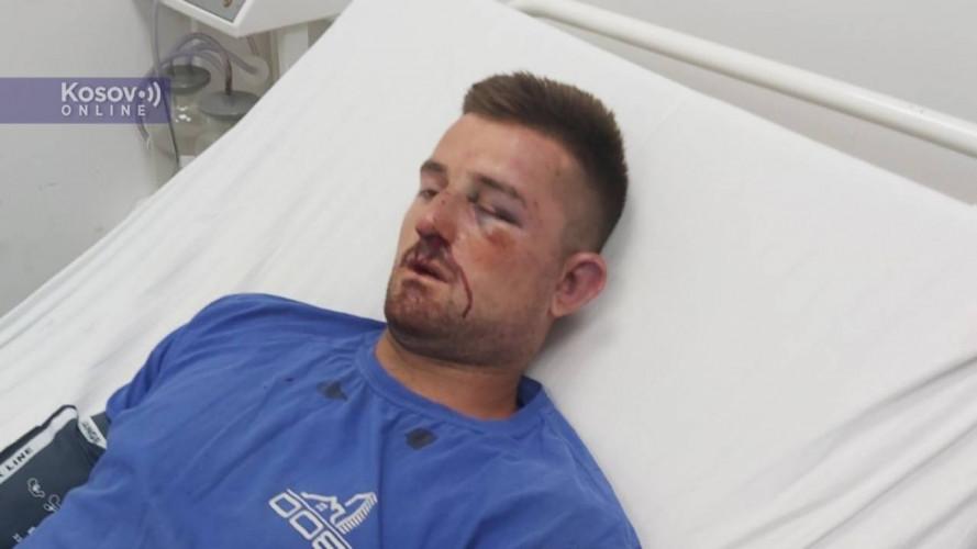 Nikola Perić u bolnici u Gnjilanu