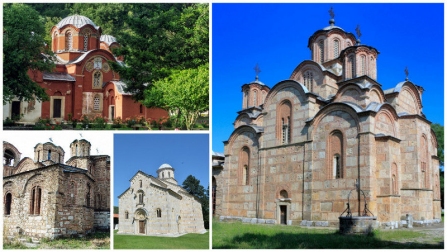 Srpski manastiri i crkve na Kosovu, Unesko